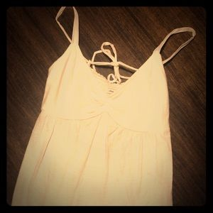 Lacy White Camisole